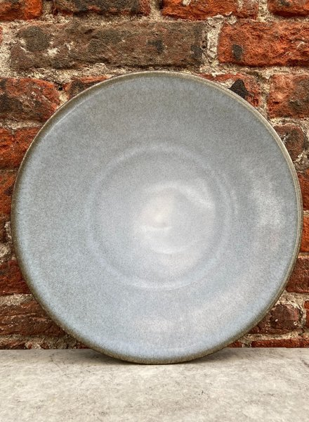 Jars Céramistes Tourron Dinner Plate 'Ecorce'