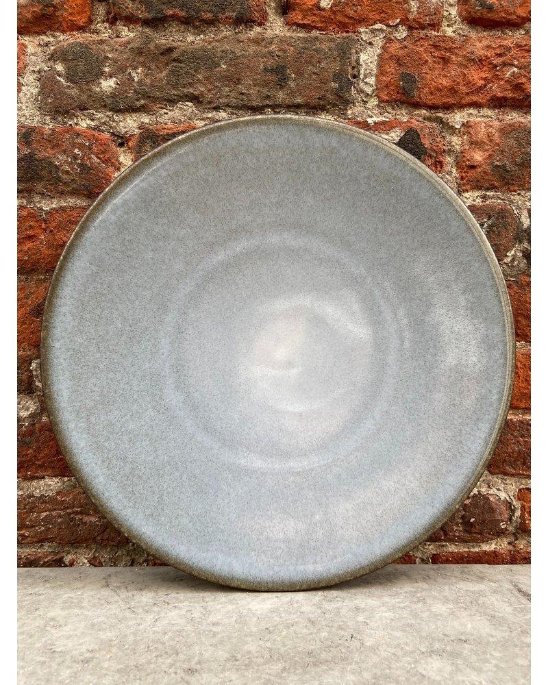 Jars Céramistes Jars Tourron Dinner Plate 'Ecorce'