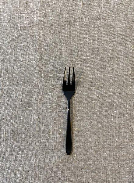 VT wonen Set/6 Cake Forks 'Matt Black'