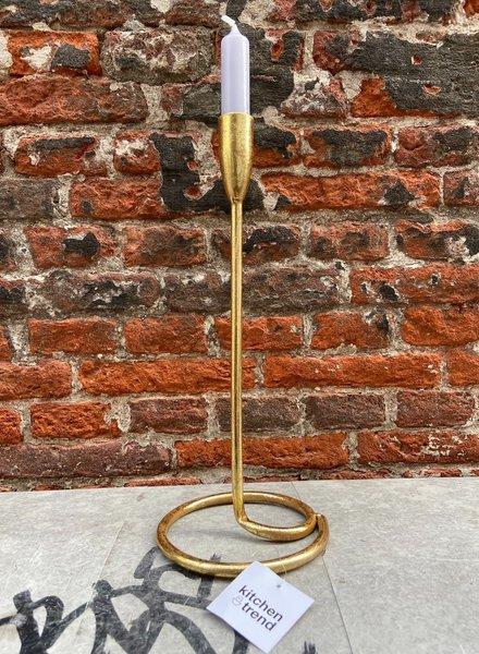 Kandelaar Goud 32 cm