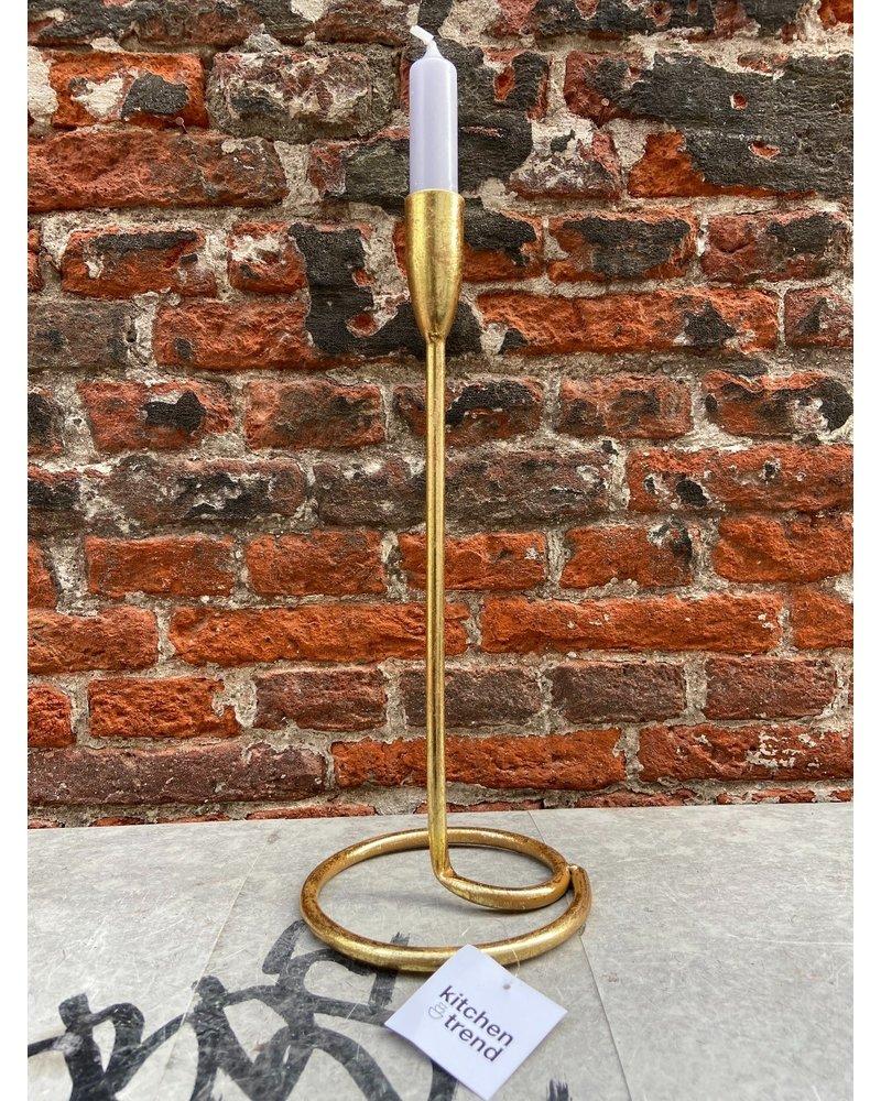 KTP Kandelaar Goud 32 cm