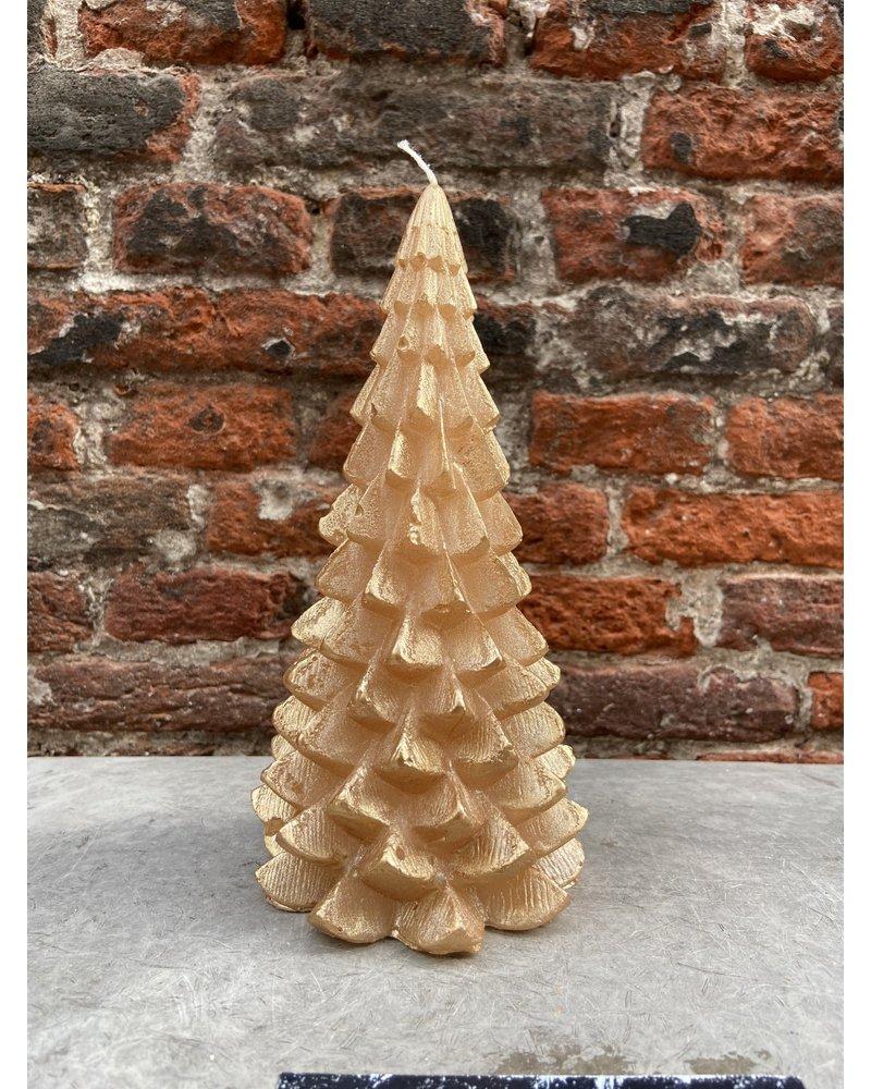 Rustik Lys Kerstboom Groot 'Goud'