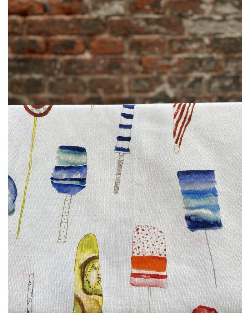 Tessitura Brivido tafelkleed 140 x 170 cm ijsjes