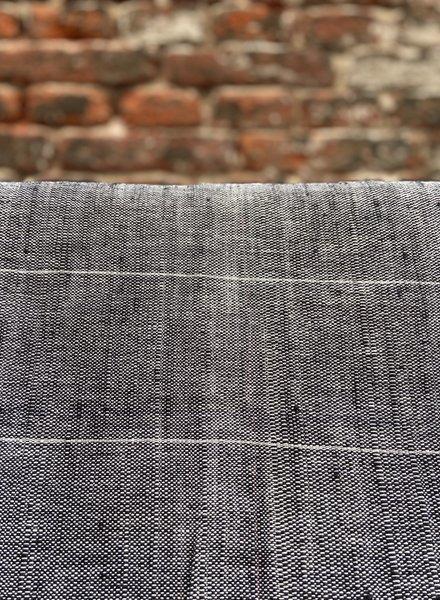 Original Home Tafelkleed 'Black Stripe'