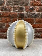 Sfera perle grande oro