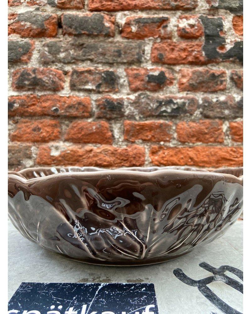 Van Verre Bordallo Bowl L 'Brown'