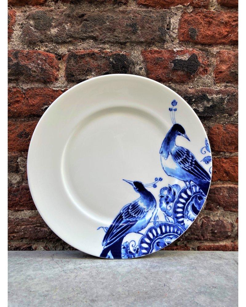 Royal Delft Royal Delft Peacock Symphony Dessert Plate