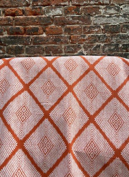 The Shop Tafelkleed Rond 'Aztec Orange'