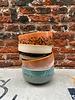 HK living HK living Ceramic 70's Dessert Bowl 'Moss'