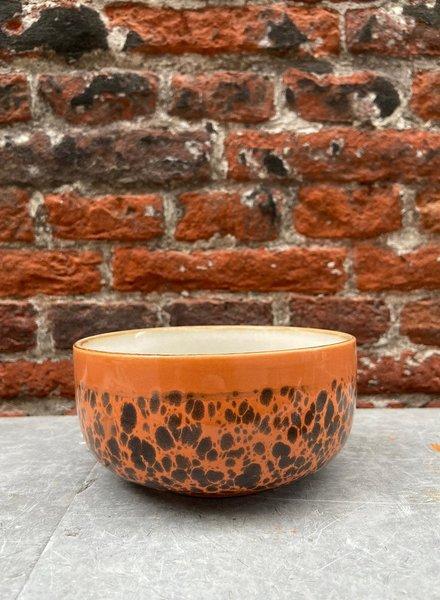 HK living Ceramic 70's Dessert Bowl 'Panter'
