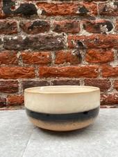 HK living Ceramic 70's Dessert Bowl 'Tornado'