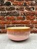 HK living HK living Ceramic 70's Dessert Bowl 'Pink'