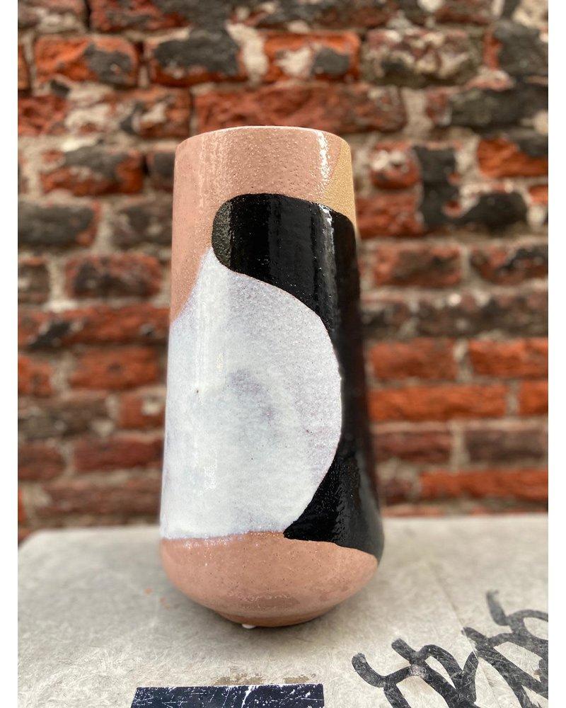 HK living HK living Hand Painted Ceramic Flower Vase