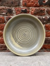 HK living Home Chef Deep Plate 'Rustic Green/Grey'