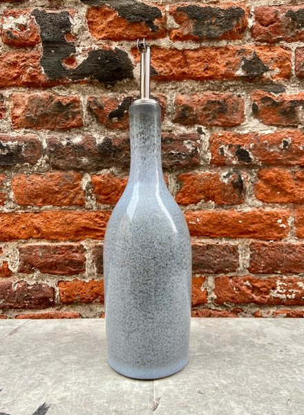 Jars Céramistes Tourron Oil Bottle 'Ecorce'