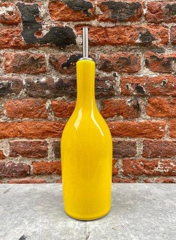 Jars Céramistes Tourron Oil Bottle 'Citron'