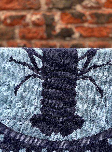 Wolbert Textiles Kitchentowel 'Lazy Lobster Blue'