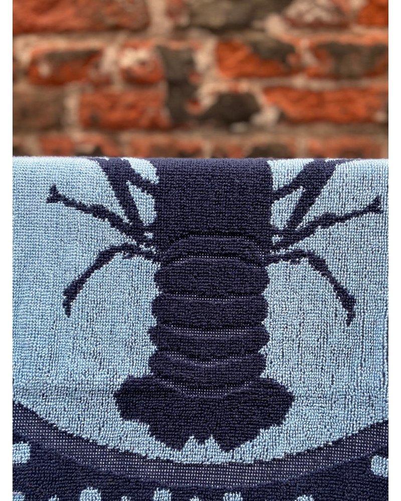 Wolbert Textiles Wolbert Textiles Kitchentowel 'Lazy Lobster Blue'