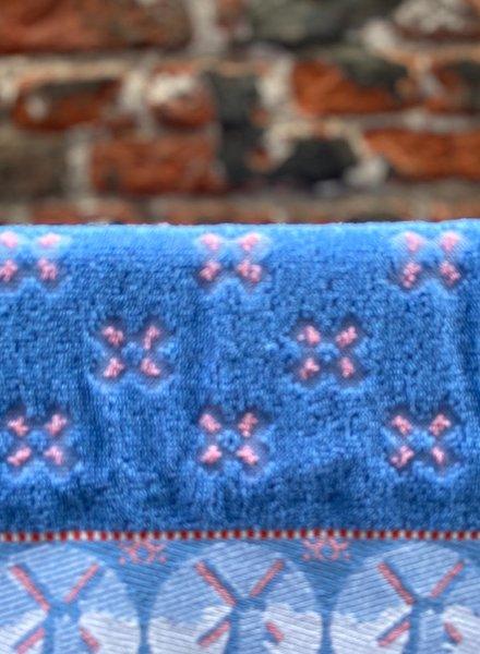 Wolbert Textiles Kitchentowel 'Woven Windmill Pink'