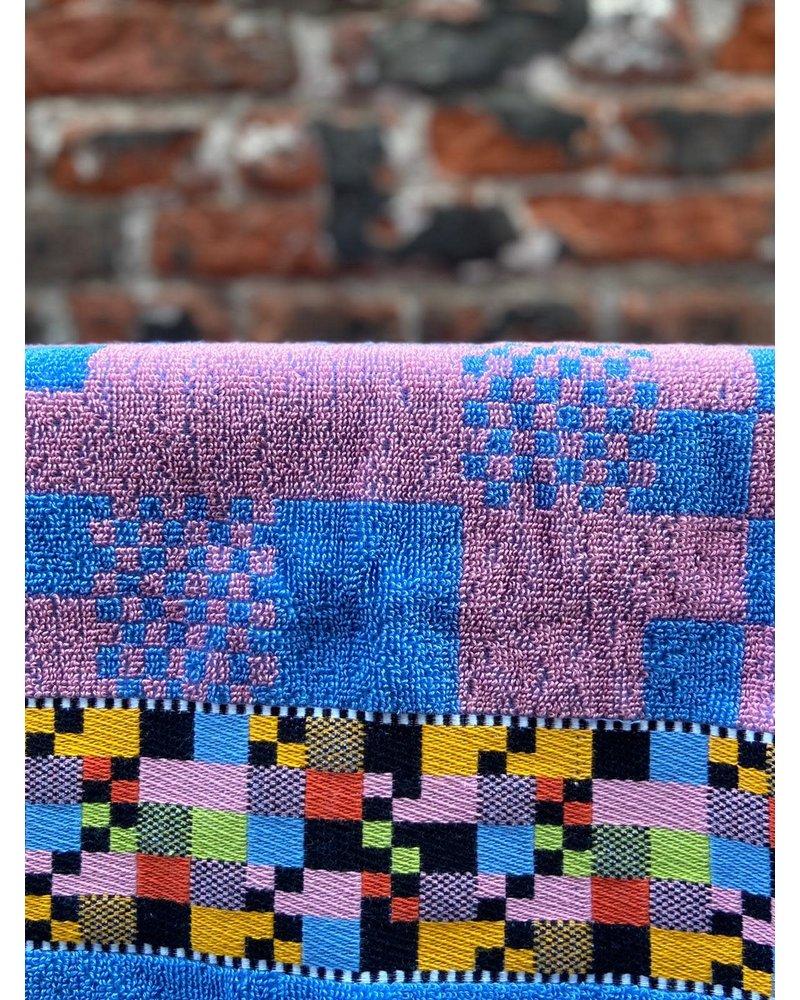 Wolbert Textiles Wolbert Textiles Kitchentowel 'Soft Square Pink'