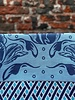 Wolbert Textiles Wolbert Textiles Teatowel 'La Bomba Tulipa Blue'