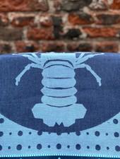 Wolbert Textiles Teatowel 'Lazy Lobster Blue'