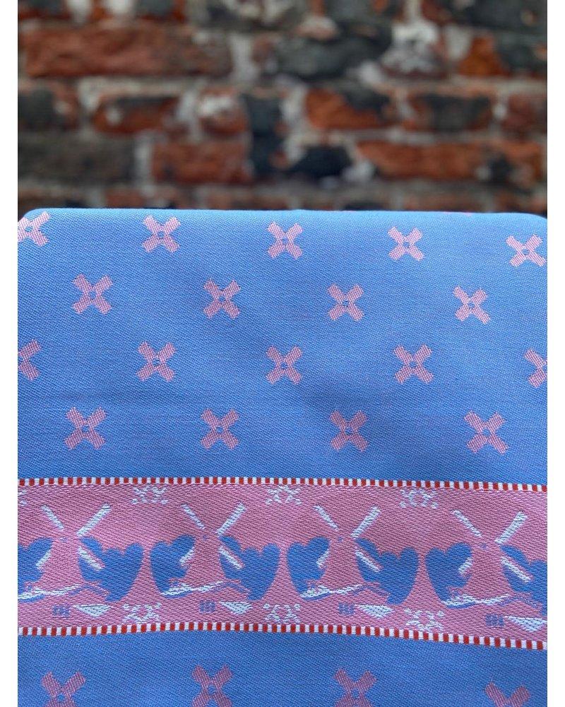 Wolbert Textiles Wolbert Textiles Teatowel 'Woven Windmill Pink'