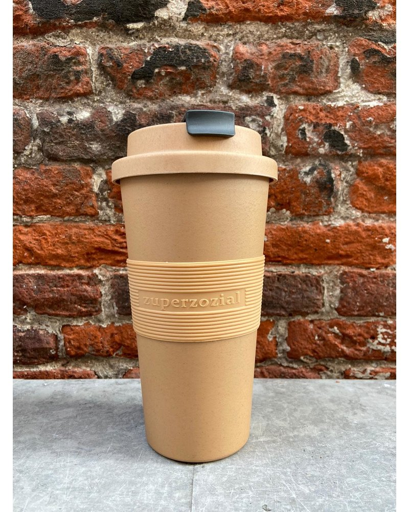 Zuperzozial Zuperzozial Time Out Mug Large 'Toffee Brown'