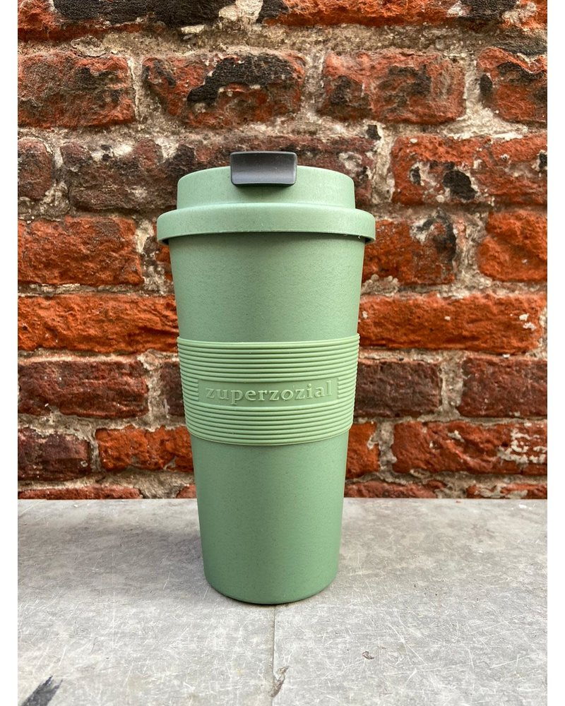 Zuperzozial Zuperzozial Time Out Mug Large 'Rosemary Green'