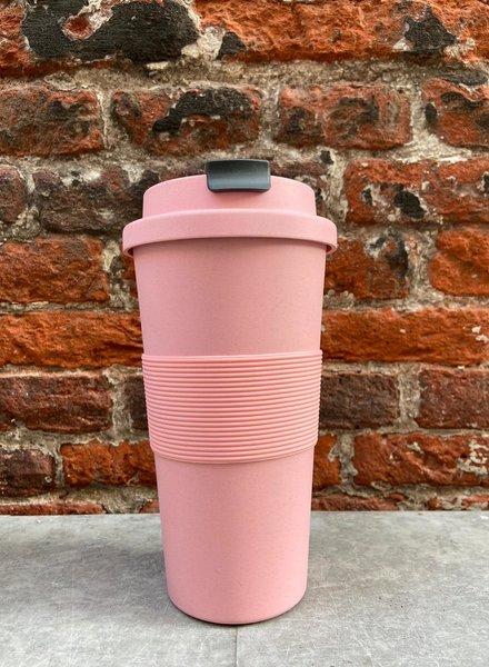 Zuperzozial Time Out Mug Large 'Lollipop Pink'