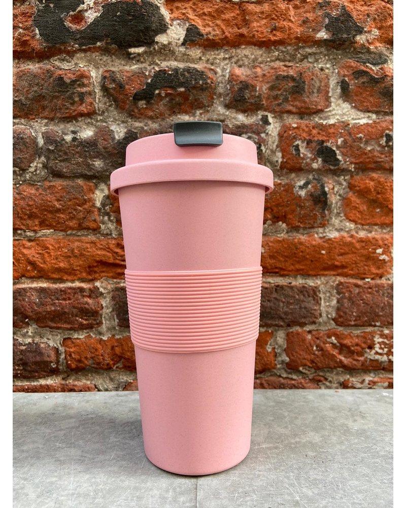 Zuperzozial Zuperzozial Time Out Mug Large 'Lollipop Pink'