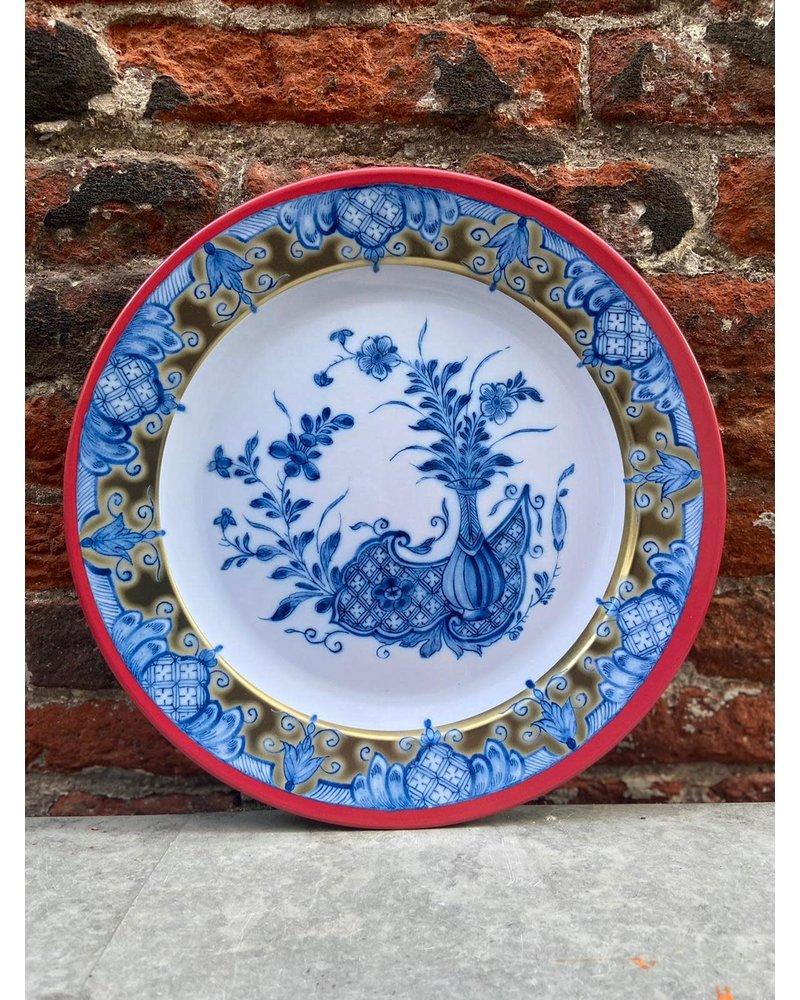 Rijksmuseum Rijksmuseum Bord 26 cm 'Delfts Blauw'