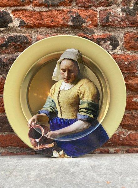 Rijksmuseum Bord 26 cm 'Vermeer Het Melkmeisje'
