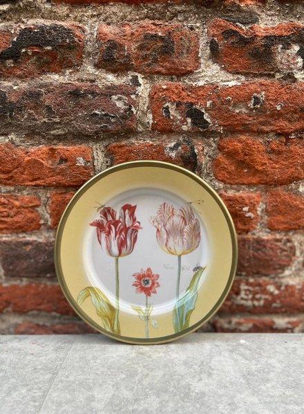 Rijksmuseum Bord 16 cm 'Marrel Tulpen Geel'