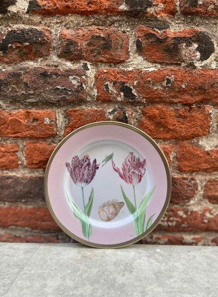 Rijksmuseum Bord 16 cm 'Marrel Tulpen Roze'