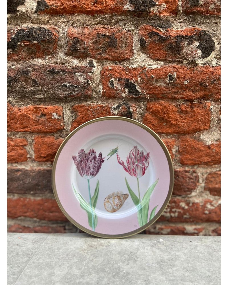 Rijksmuseum Rijksmuseum Bord 16 cm 'Marrel Tulpen Roze'