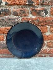 Jars Céramistes Tourron Dessert Plate 'Indigo'
