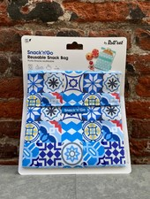 Roll and eat Snack'n Go 'Patchwork Blue'