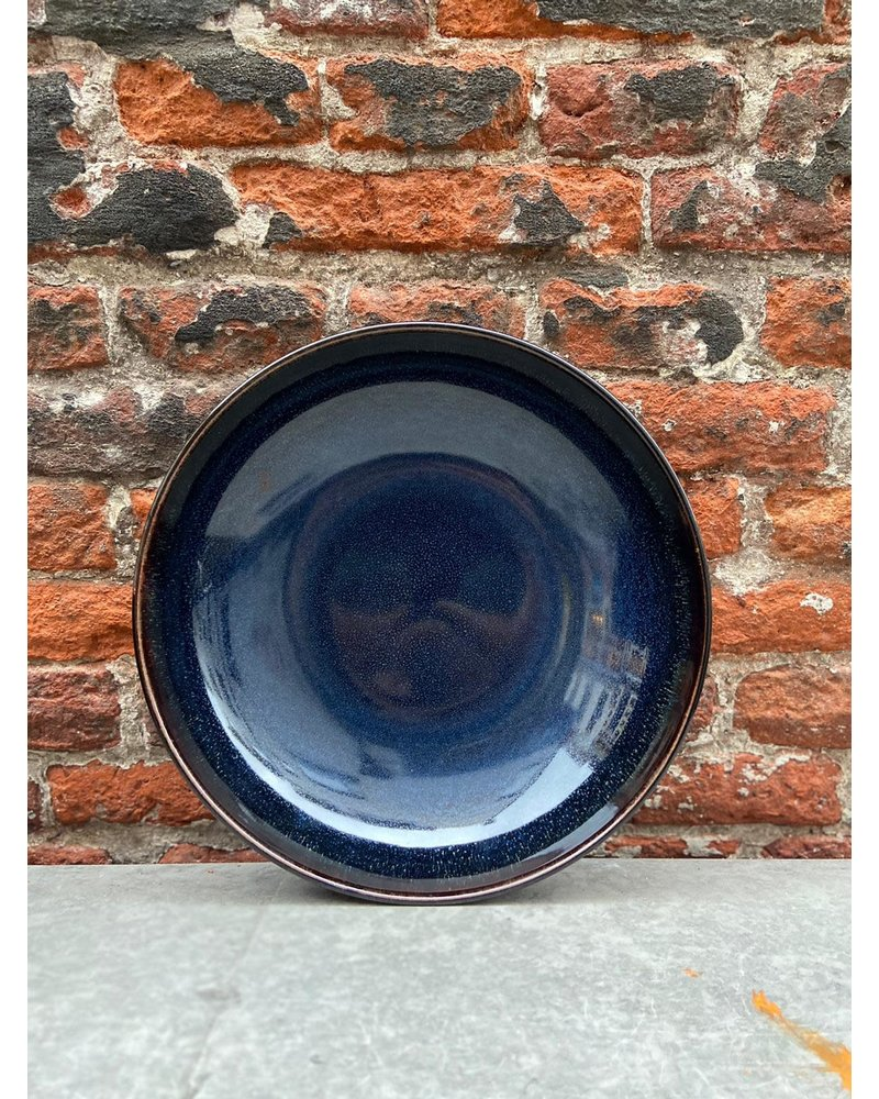 Jars Céramistes Jars Tourron Pasta Plate 'Indigo'