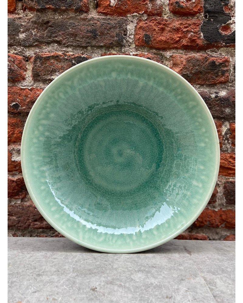 Jars Céramistes Jars Tourron Pasta Plate 'Jade'