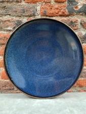 Jars Céramistes Tourron Dinner Plate 'Indigo'