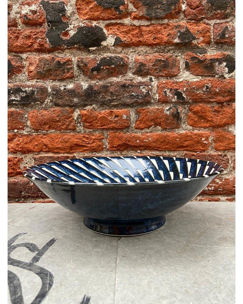 Tokyo Design Tokyo Design Ramen Bowl 'Blue Hanten Twist'