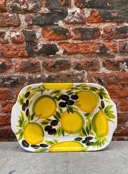 Piccobella Lasagne/Ovenschaal 'Citroen Olijf'