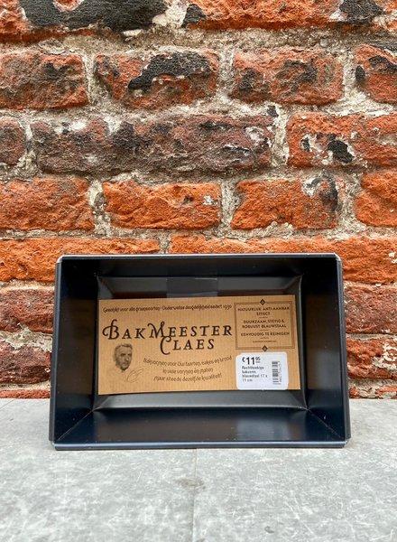 Bakmeester Claes Bakvorm Blauwstaal 17 x 11 cm