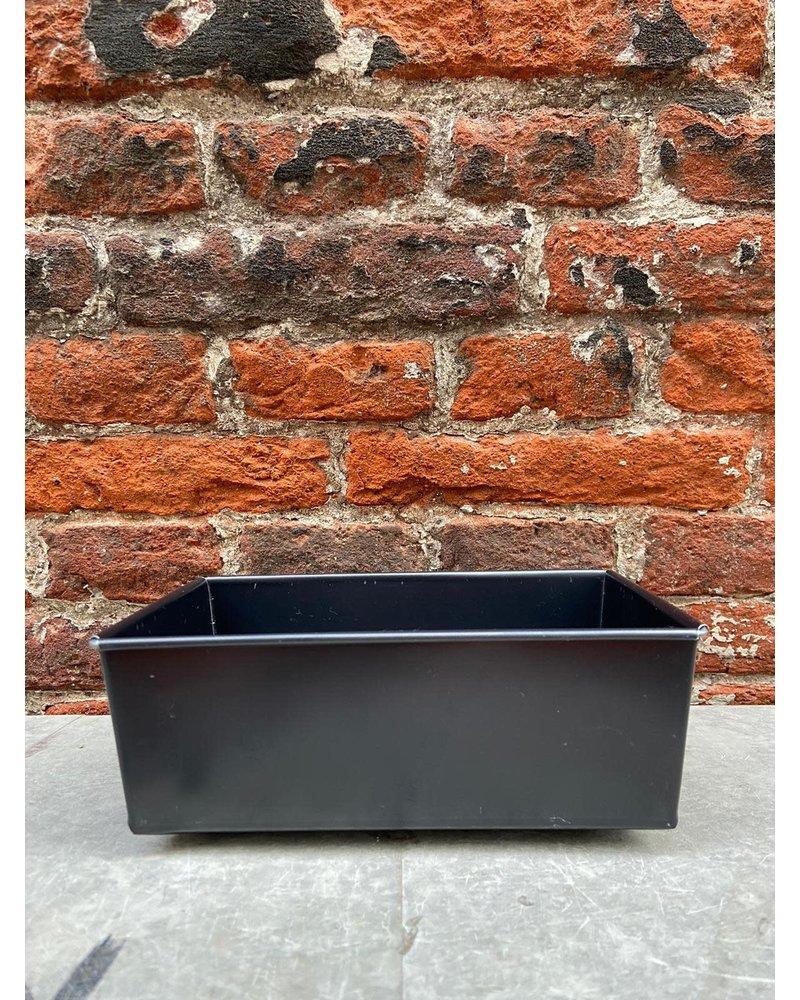Bakmeester Claes Rechthoekige Bakvorm Blauwstaal 17 x 11 cm