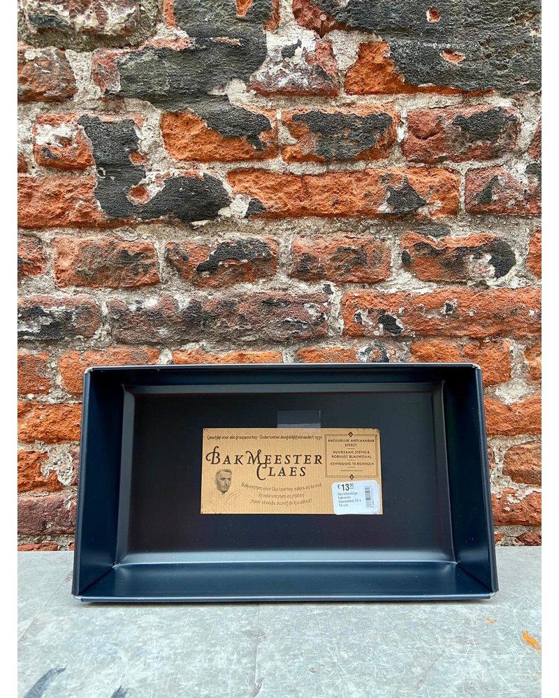 Bakmeester Claes Bakmeester Claes Bakvorm Blauwstaal 24 x 14 cm