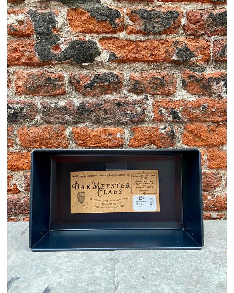 Bakmeester Claes Bakmeester Claes Bakvorm Blauwstaal 29 x 16 cm