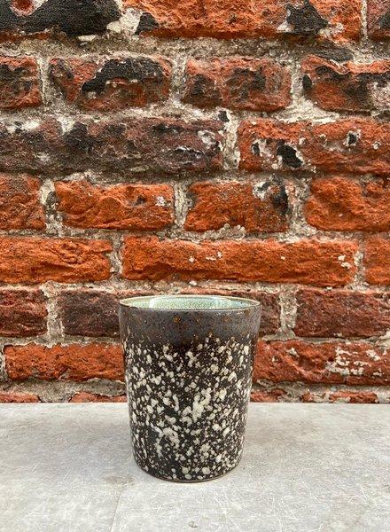 HK living Ceramic 70's Mug  'Mud'