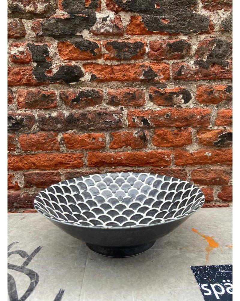 Tokyo Design Tokyo Design Noodle Bowl 'Black Mermaid'