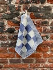 Knit Factory Pannenlap Block 'Ecru/Jeans'